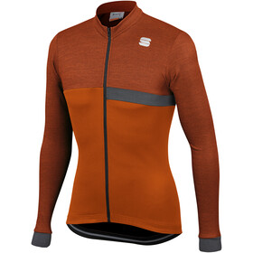 Sportful Giara Maillot Thermique à manches longues Homme, sienna